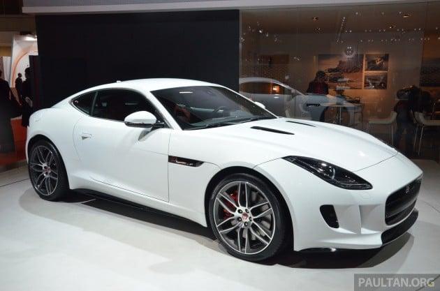 Tokyo 2013: Jaguar F-T...