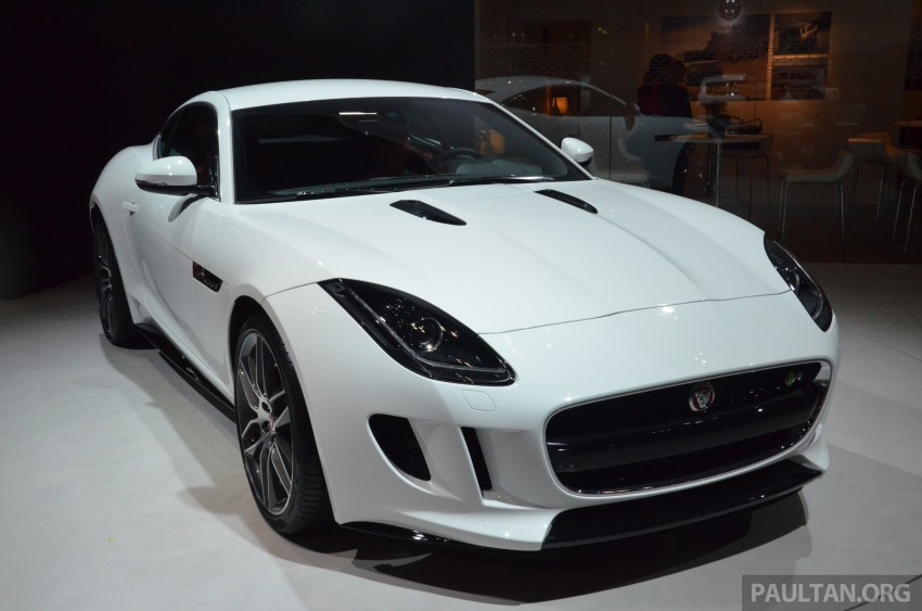 Tokyo 2013: Jaguar F-Type Coupe debuts, gets 550 PS Image #212648