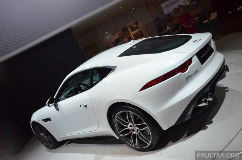 Tokyo 2013: Jaguar F-Type Coupe debuts, gets 550 PS Image #212652