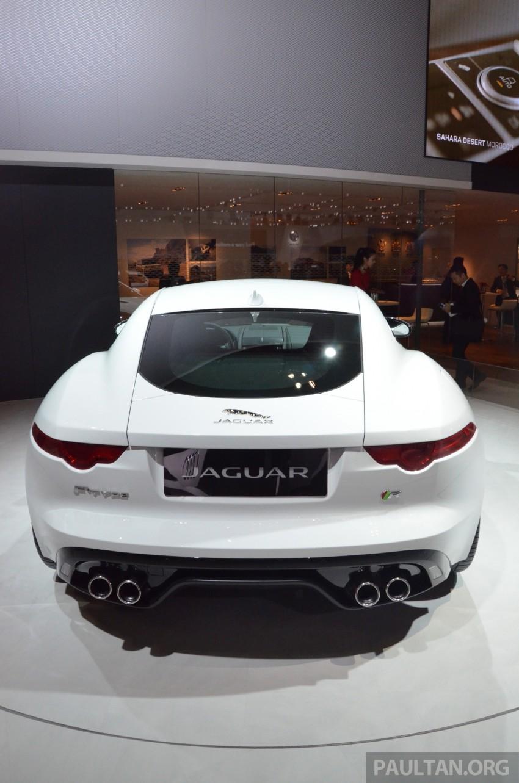 Tokyo 2013: Jaguar F-Type Coupe debuts, gets 550 PS Image #212653