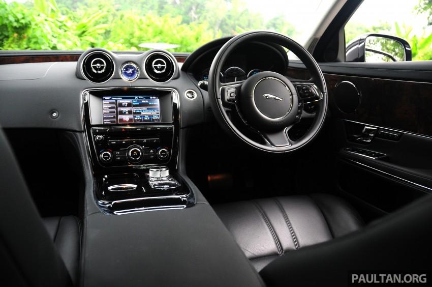 DRIVEN: Jaguar XJ L 2.0 Ti – only four-pot in its class Image #207920