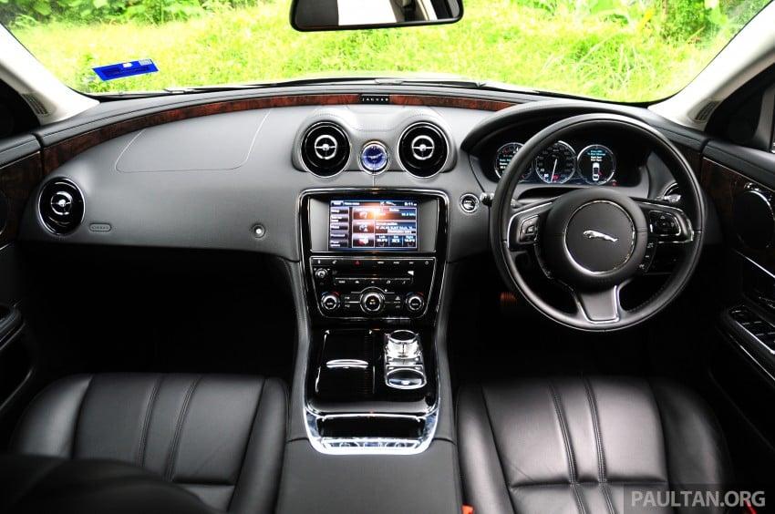 DRIVEN: Jaguar XJ L 2.0 Ti – only four-pot in its class Image #207921