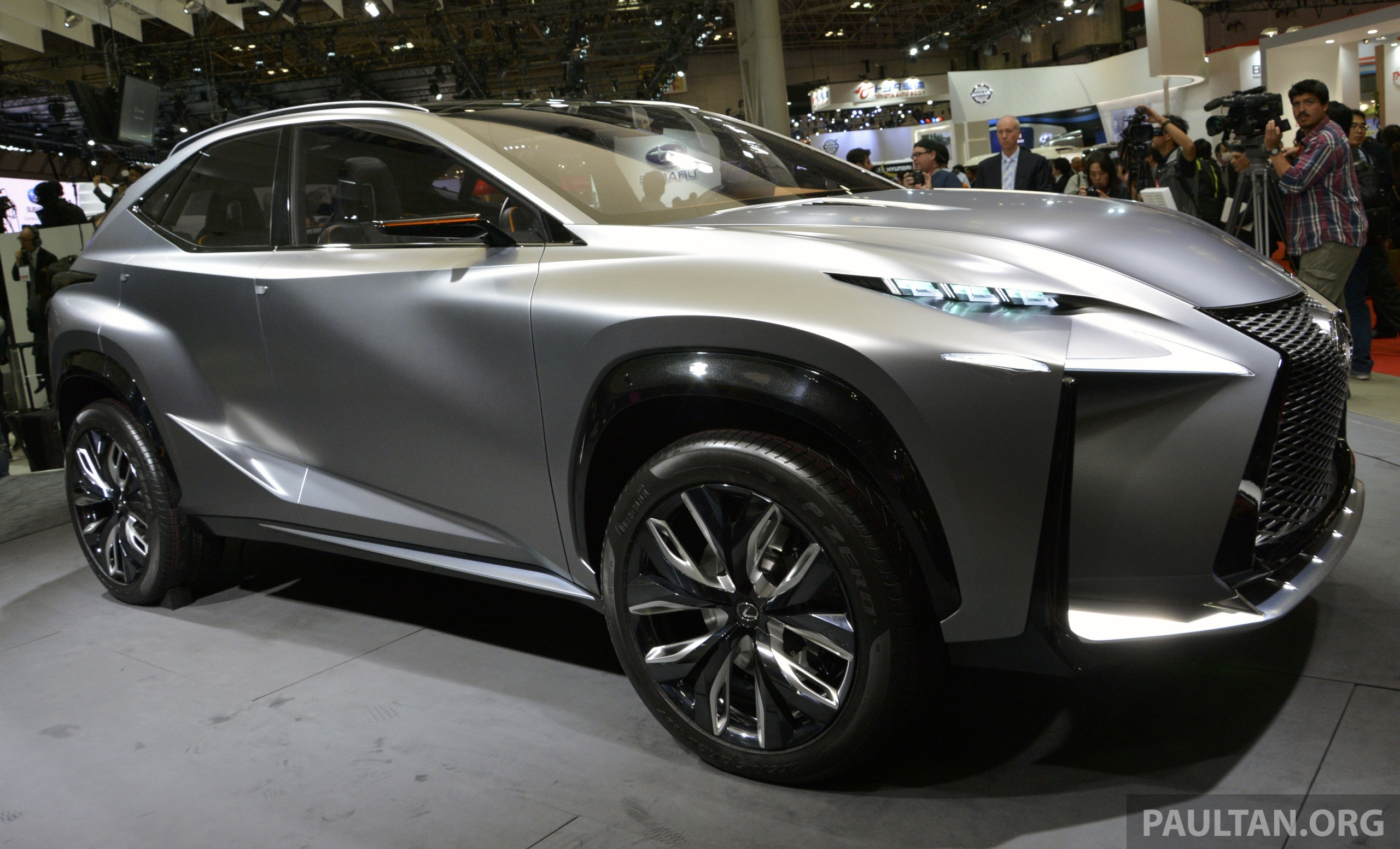 Tokyo 2013: Lexus LF-NX Turbo goes the blown route Image ...