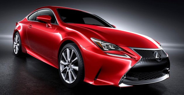 Lexus has unveiled the RC Coupe at the 2013 Tokyo Motor Show.