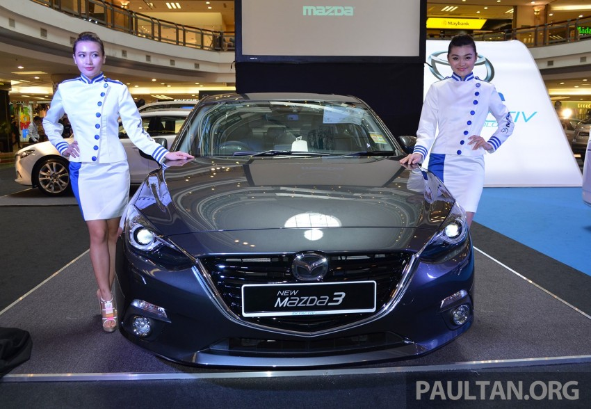 GALLERY: 2014 Mazda 3 previewed in Malaysia Image #209317