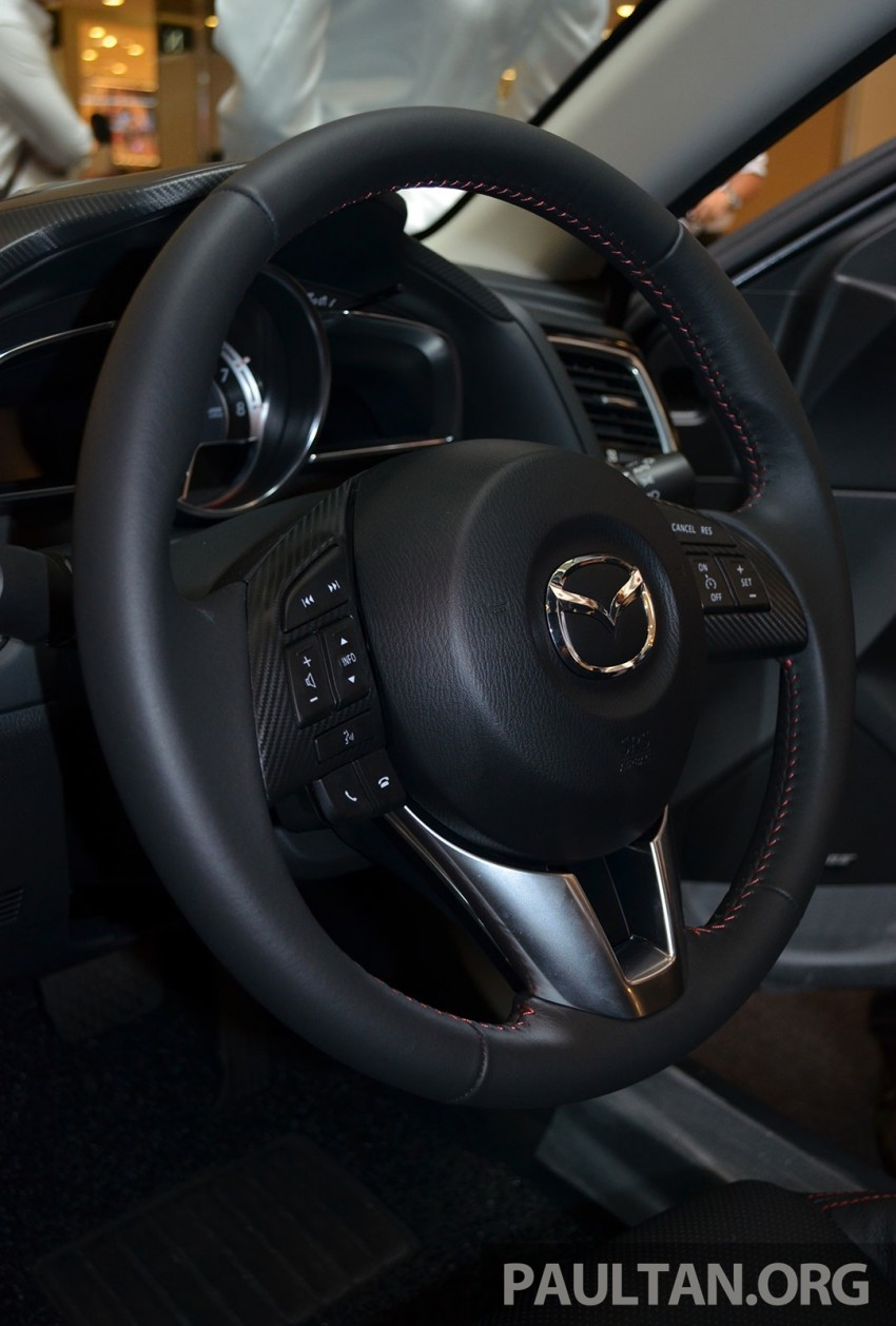 GALLERY: 2014 Mazda 3 previewed in Malaysia Image #209324