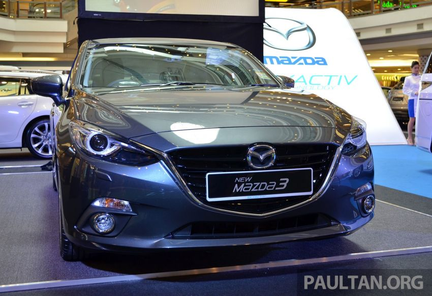 GALLERY: 2014 Mazda 3 previewed in Malaysia Image #209309