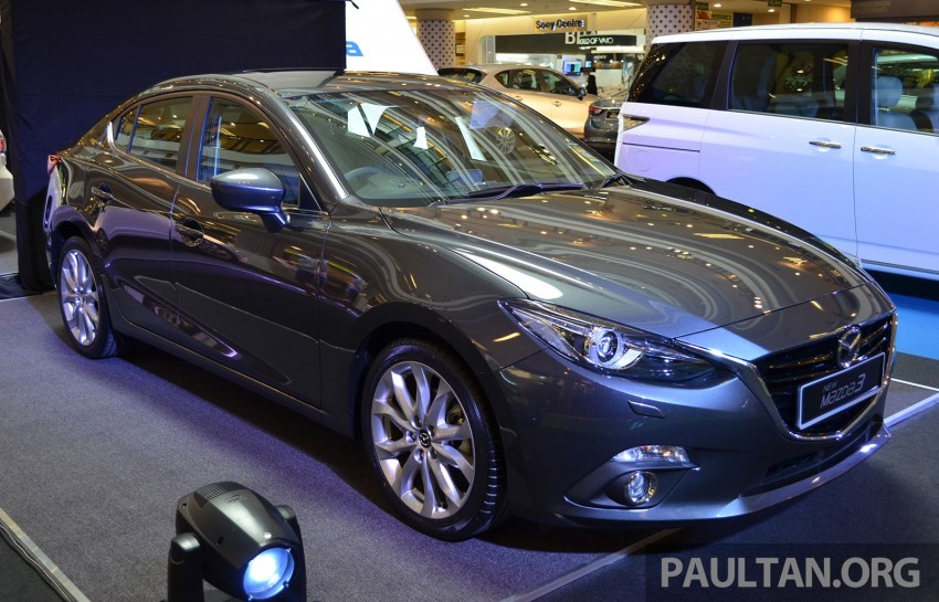 GALLERY: 2014 Mazda 3 previewed in Malaysia Image #209310