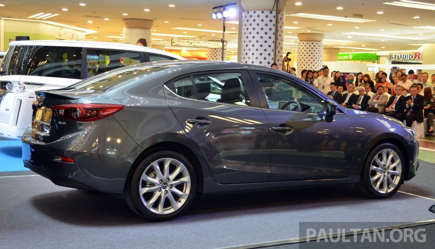 GALLERY: 2014 Mazda 3 previewed in Malaysia Image #209311