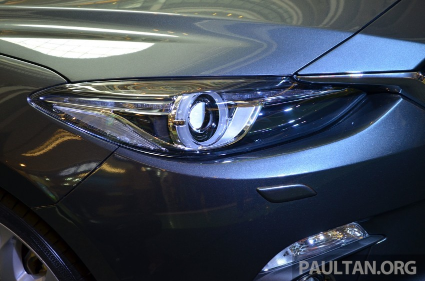 GALLERY: 2014 Mazda 3 previewed in Malaysia Image #209314