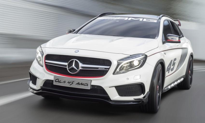 Mercedes-Benz Concept GLA 45 AMG debuts in LA Image #212577