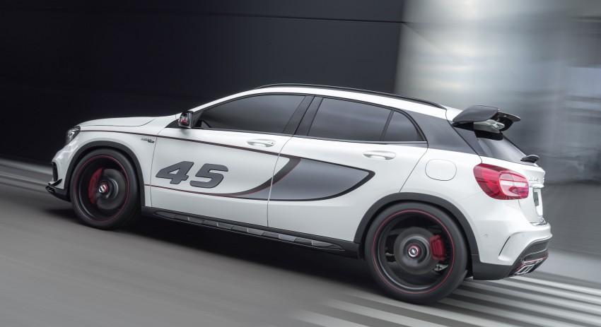 Mercedes-Benz Concept GLA 45 AMG debuts in LA Image #212578