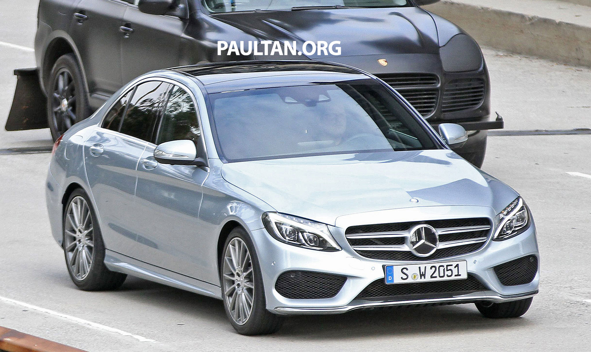 W205 mercedes benz c class fully undisguised image 210767 for Mercedes benz w205