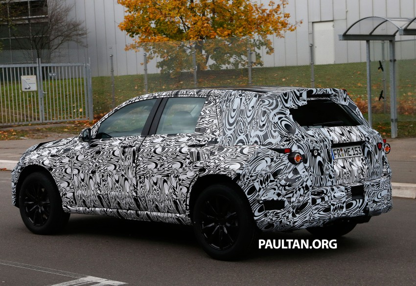 SPYSHOTS: First view of new GLK-Class interior Image #209439