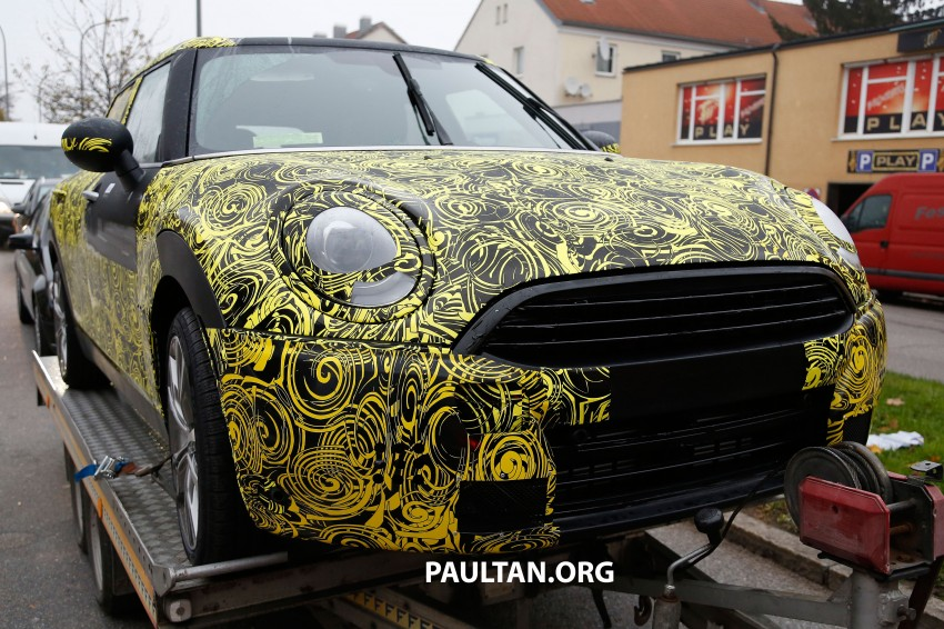 SPYSHOTS: Two new bodystyles for the MINI sighted Image #211526