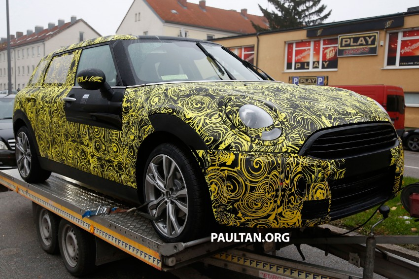 SPYSHOTS: Two new bodystyles for the MINI sighted Image #211525