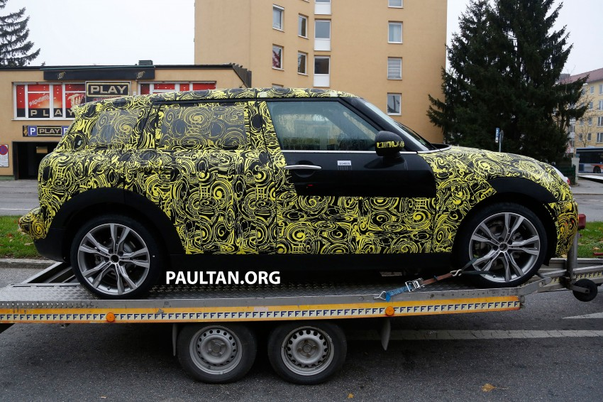 SPYSHOTS: Two new bodystyles for the MINI sighted Image #211524