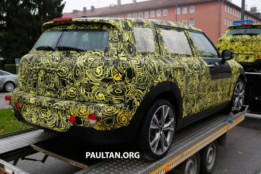 SPYSHOTS: Two new bodystyles for the MINI sighted Image #211522