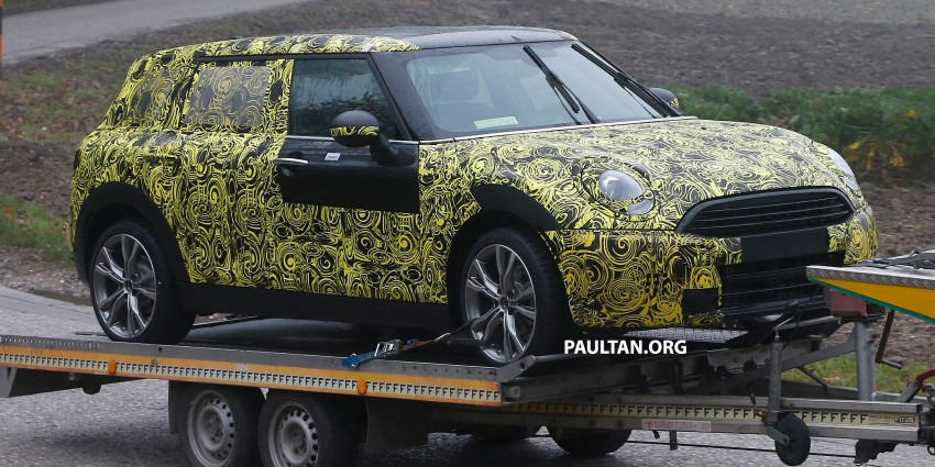 SPYSHOTS: Two new bodystyles for the MINI sighted Image #211493