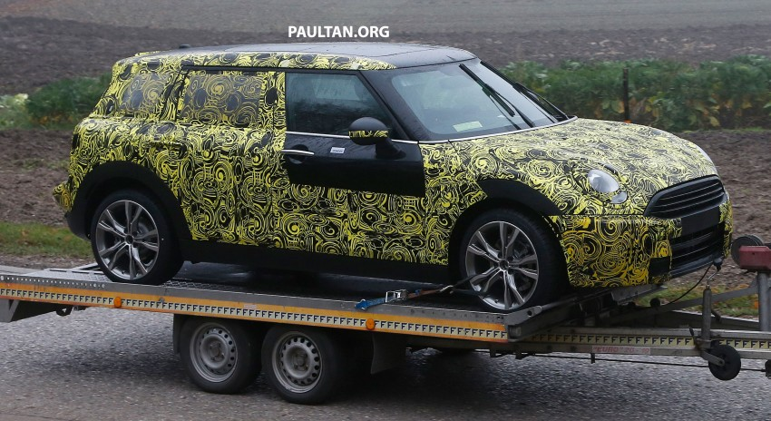 SPYSHOTS: Two new bodystyles for the MINI sighted Image #211496