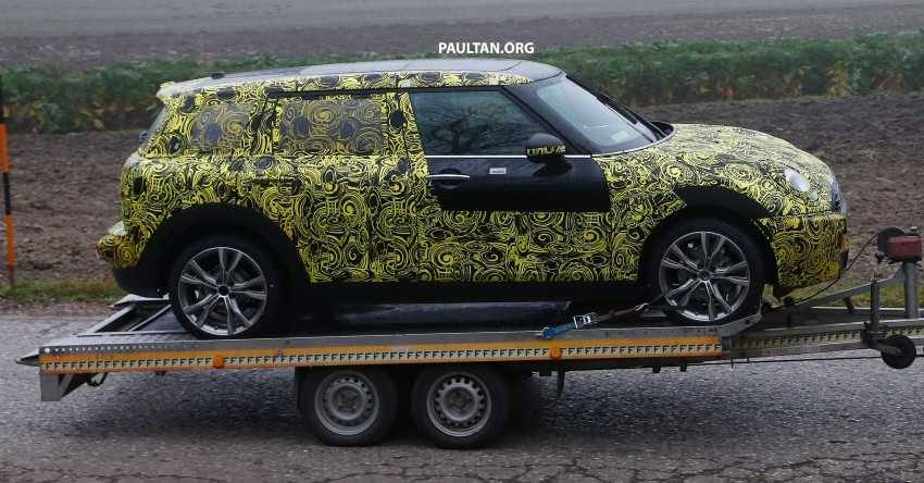 SPYSHOTS: Two new bodystyles for the MINI sighted Image #211495