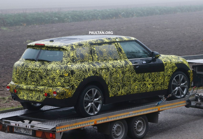 SPYSHOTS: Two new bodystyles for the MINI sighted Image #211497