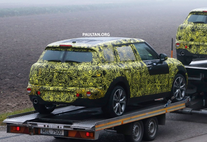 SPYSHOTS: Two new bodystyles for the MINI sighted Image #211500