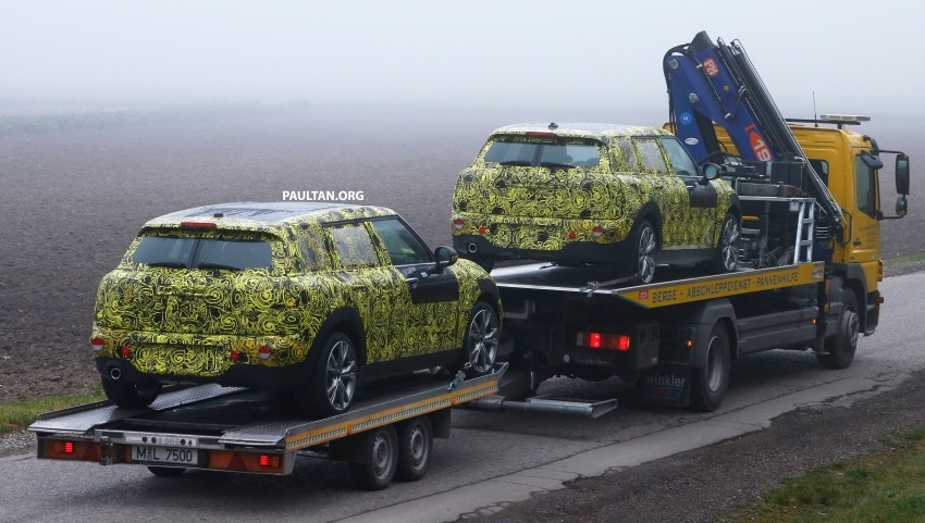 SPYSHOTS: Two new bodystyles for the MINI sighted Image #211498