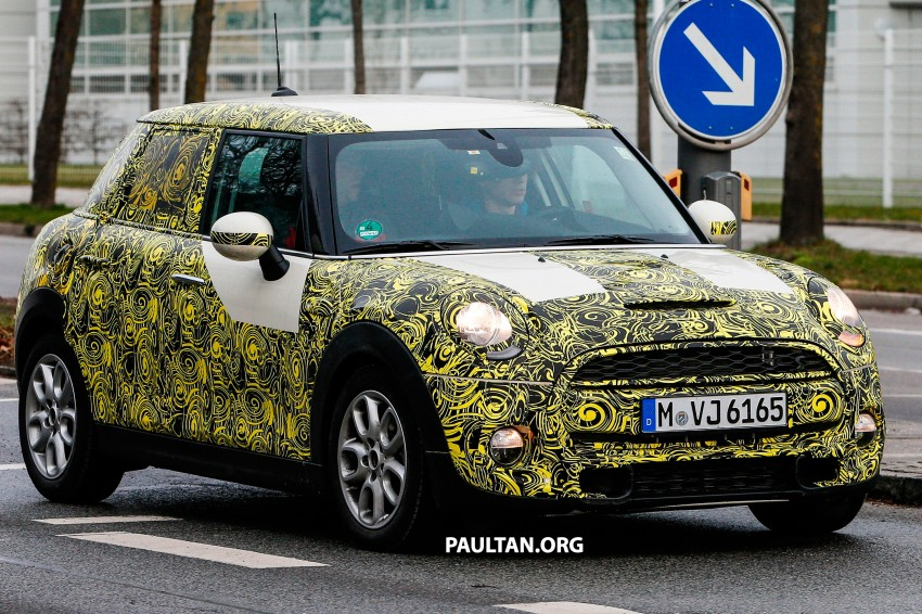 SPYSHOTS: Two new bodystyles for the MINI sighted Image #217367