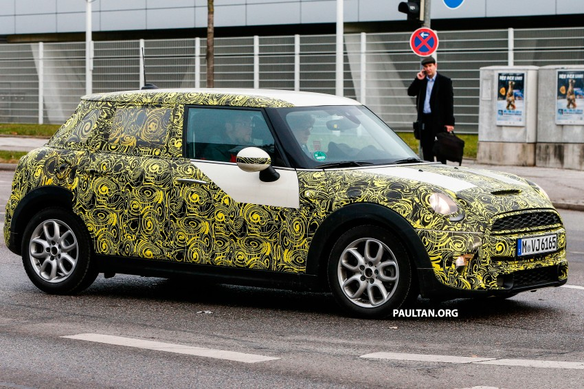 SPYSHOTS: Two new bodystyles for the MINI sighted Image #217366