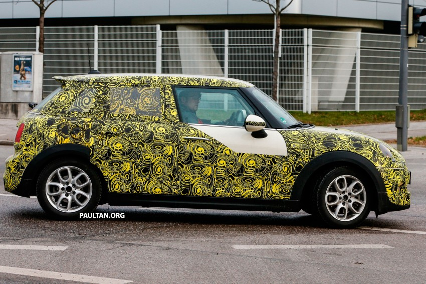 SPYSHOTS: Two new bodystyles for the MINI sighted Image #217364