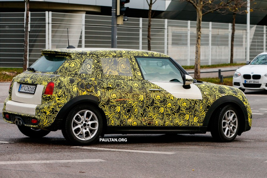SPYSHOTS: Two new bodystyles for the MINI sighted Image #217365