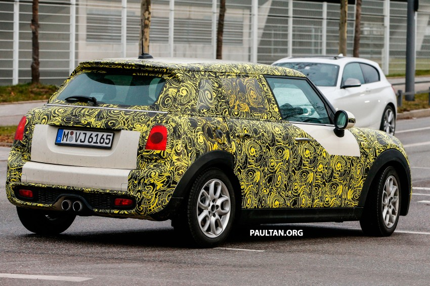 SPYSHOTS: Two new bodystyles for the MINI sighted Image #217362