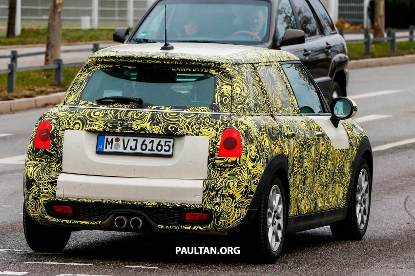 SPYSHOTS: Two new bodystyles for the MINI sighted Image #217363