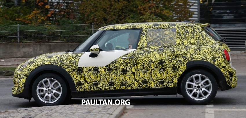 SPYSHOTS: Two new bodystyles for the MINI sighted Image #212217