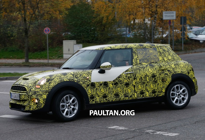 SPYSHOTS: Two new bodystyles for the MINI sighted Image #212215