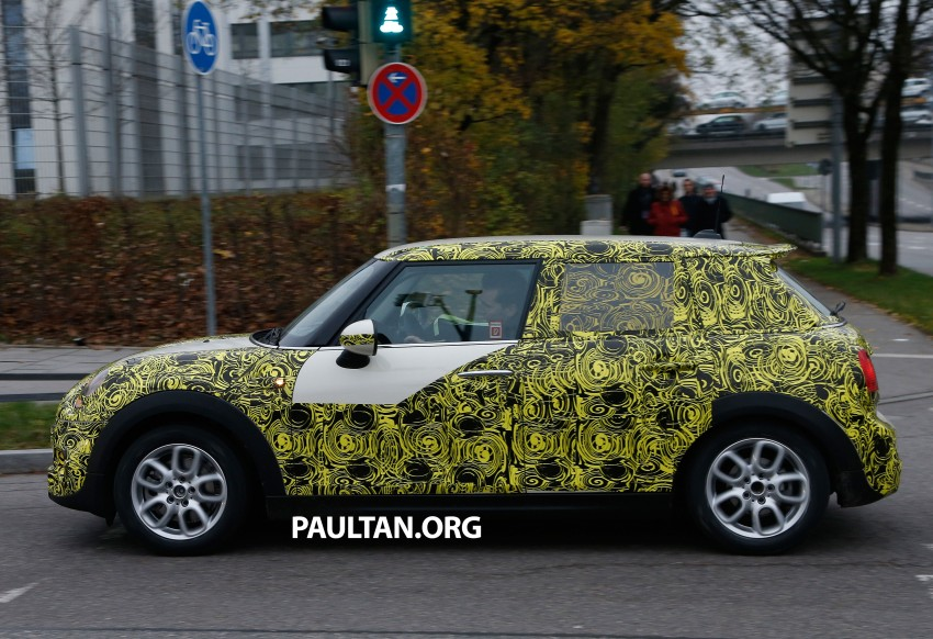 SPYSHOTS: Two new bodystyles for the MINI sighted Image #212214