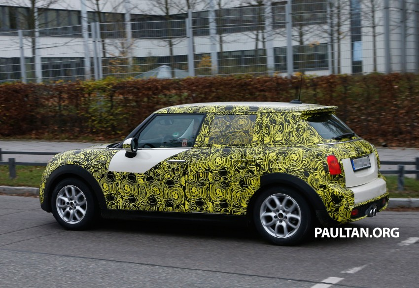 SPYSHOTS: Two new bodystyles for the MINI sighted Image #212213
