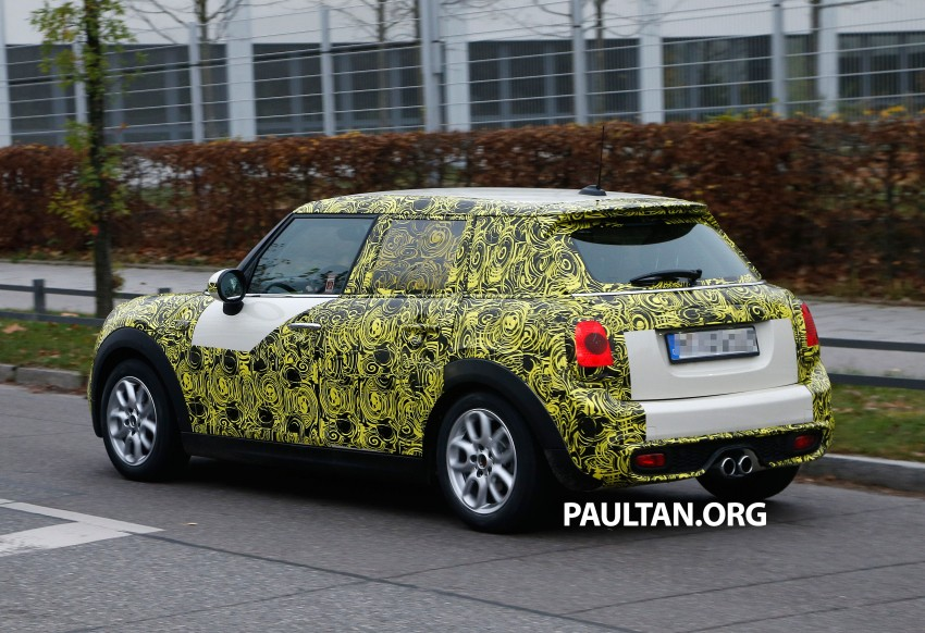 SPYSHOTS: Two new bodystyles for the MINI sighted Image #212210