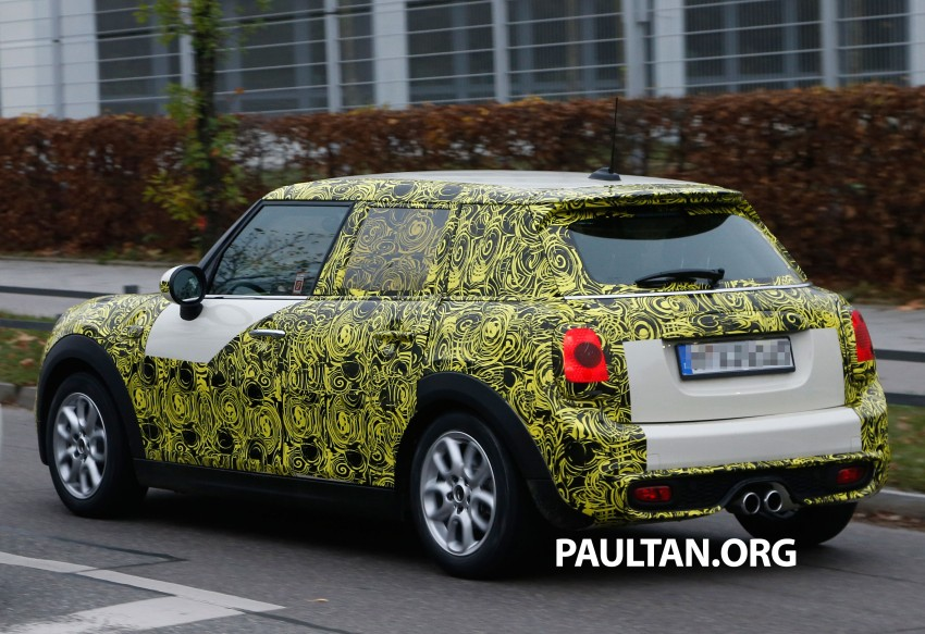 SPYSHOTS: Two new bodystyles for the MINI sighted Image #212212