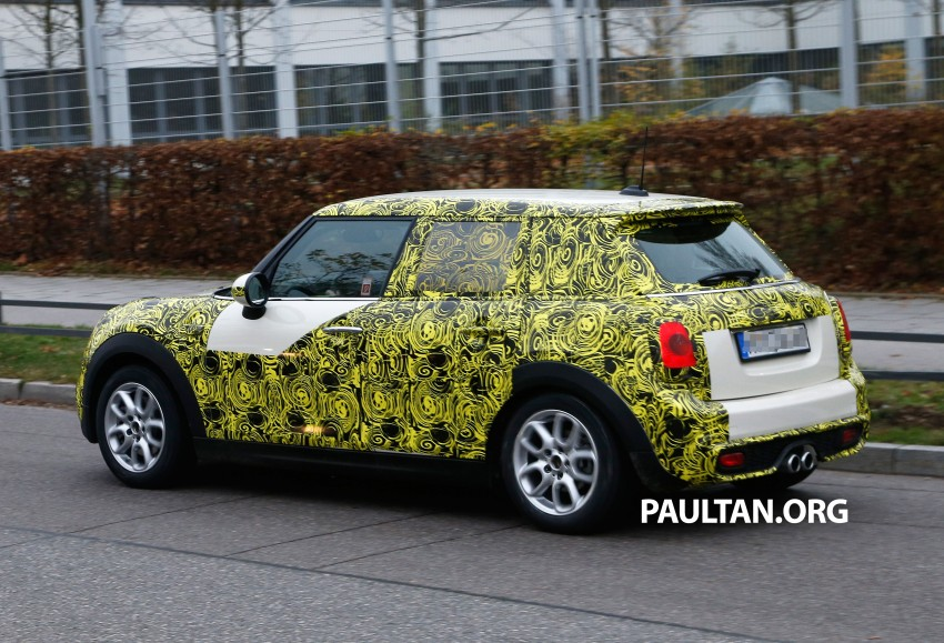 SPYSHOTS: Two new bodystyles for the MINI sighted Image #212211