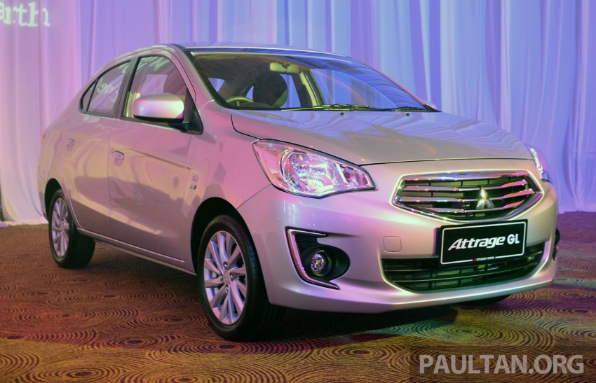 Mitsubishi Attrage launched in Malaysia, from RM59k Image #209078