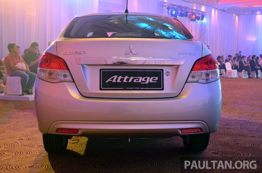 Mitsubishi Attrage launched in Malaysia, from RM59k Image #209081