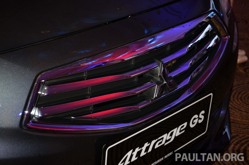 Mitsubishi Attrage launched in Malaysia, from RM59k Image #209084