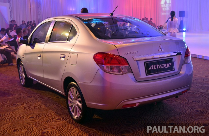 Mitsubishi Attrage launched in Malaysia, from RM59k Image #209087