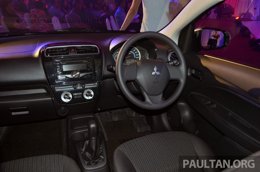 Mitsubishi Attrage launched in Malaysia, from RM59k Image #209091