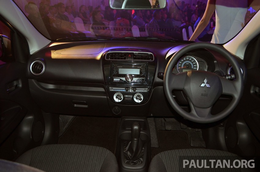 Mitsubishi Attrage launched in Malaysia, from RM59k Image #209092