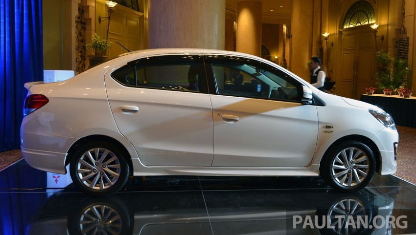 Mitsubishi Attrage launched in Malaysia, from RM59k Image #209100