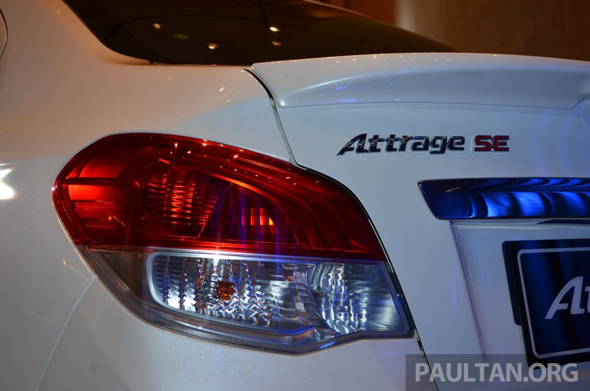 Mitsubishi Attrage launched in Malaysia, from RM59k Image #209070