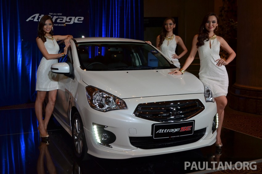 Mitsubishi Attrage launched in Malaysia, from RM59k Image #209073